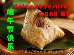 ucapan selamat festival duan wu jie, bak cang di duan wu jie