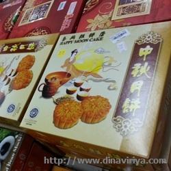Hari Raya Zhong Qiu (Festival Kue Bulan)