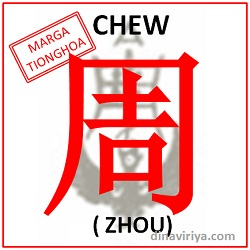 Asal usul Marga Zhou (Chew)