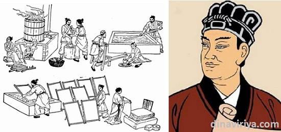 Cai Lun (Penemu Teknik Pembuatan Kertas)